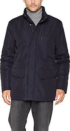 Geox Man Jacket Manteau, Noir (Black), Small (Taille