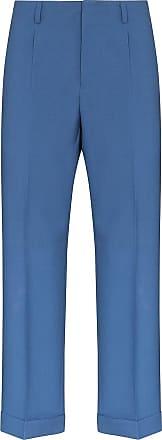 Givenchy Calça de alfaiataria cropped - Azul