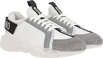 Moschino Sneakers - Sneaker Orso Mix White/Grey - white - Sneakers for ladies
