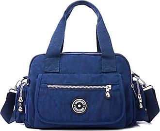 GFM Womens Nylon Cross Body Shoulder Bag (88)(S2-5680-1-GHNL)
