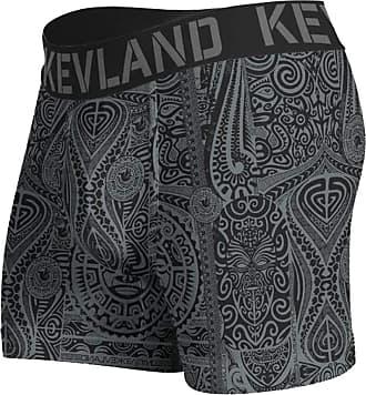 Kevland Underwear Cueca Kevland Boxer Maori All Black KEV164 GG
