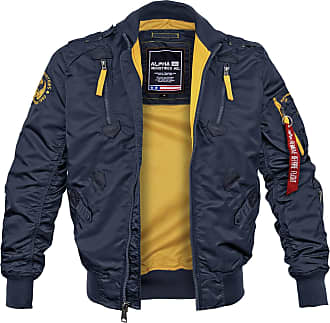 Alpha Industries Falcon II Fliegerjacke repl.-blue, Größe XXL
