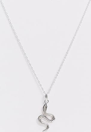 Kingsley Ryan necklace in sterling silver with snake pendant
