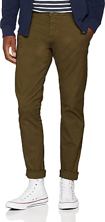 Selected Homme Mens Slhskinny-Luca Pants W Noos Trouser, Green (Olive Night), W33/L32 (Size: 33)