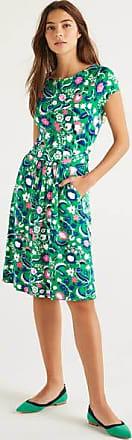Boden Amelie Jerseykleid Green Damen Boden