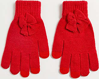 7X SVNX red gloves with bow