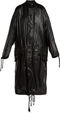 Haider Ackermann High-shine Shell Coat - Womens - Black