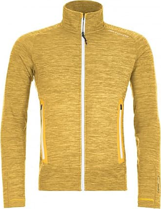 Ortovox Fleece Light Melange Jacket Wolljacke für Herren | orange