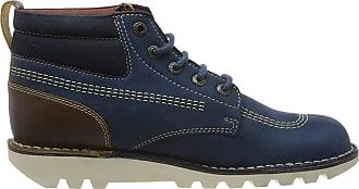 Kickers Mens Kick Hi Mash Up Classic Boots, Blue (Blue Blu), 10.5 (45 EU)