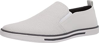 Unlisted by Kenneth Cole Mens Crown Slip on Size: 6.5 UK White