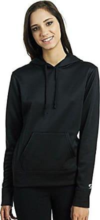 Soffe Womens Tech Fleece Hood, Black, Small