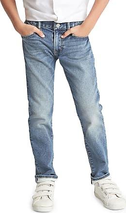 GAP Calça Jeans GAP Infantil Sim Fantastiflex Estonada Azul