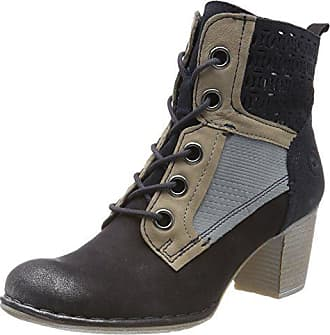 Dark Bottines 412406303540 Femme Grey Bugatti 4115 Blue EU 38 Bleu fOIBwq