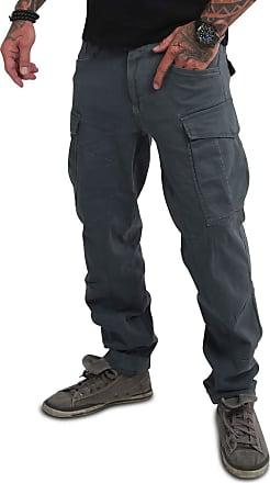 Yakuza Men Cargo Pants El Bastardo, Size:W33, Color:Dark Slate
