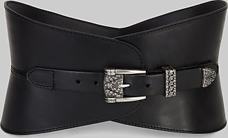 Etro Bustier Belt With Jewelled Buckle, Woman, Black, Size 90