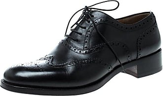 920f778f639 Christian Louboutin Black Brogue Leather Education Oxfords Size 40