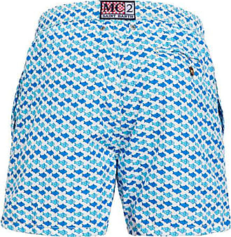 MC2 Saint Barth flounder print seventy swim shorts