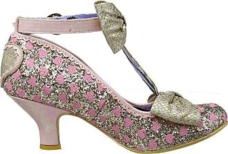Irregular Choice Womens Total Freedom T-Bar Heels, Gold (Gold F), 6.5 (40 EU)