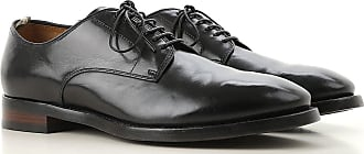 Officine Creative Lace Up Shoes for Men Oxfords, Derbies and Brogues On Sale, Black, Leather, 2017, 10 9