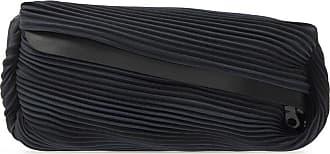 Issey Miyake Pleated Belt Bag Womens Black
