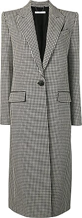 773f28e1c890 Givenchy Houndstooth one button wool coat - Black
