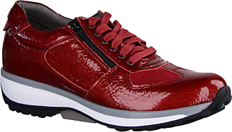 Xsensible Chelsea Red Patent - Lace-Up Shoes - Womens Shoes Comfortable Lace-Up Shoes, Red, Leather Red Size: 8 UK