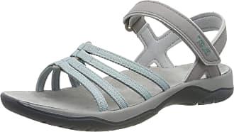Teva Womens Elzada Sandal Web Ws Ankle Strap, Green (Gray Mist 748), 8 UK