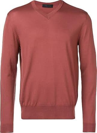Falke v-neck lightweight jumper - Pink