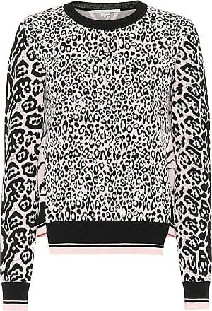 Stella McCartney Animal-jacquard sweatshirt