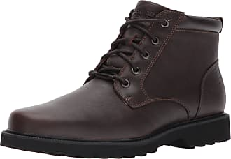 Rockport Northfield Plain Toe Boot Mens Brown Wide Work Boots 8.5 UK UK 8.5