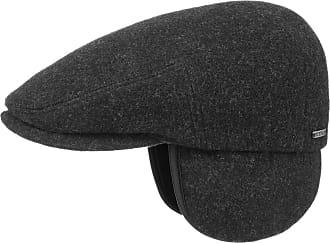 708bf0a72e956 Stetson Kent Wool Earflaps Flat Cap Men