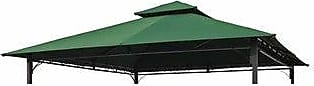 International Caravan Inc St. Kitts 10-Foot Replacement Gazebo Canopy (Forest green - Traditional/Modern & Contemporary)