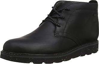 Rockport Mens Storm Front Chukka Boots, Black (Black Lea 002), 8.5 UK (42.5 EU)