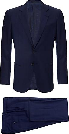 Giorgio Armani Terno Peacoat Azul - Homem - 50 IT