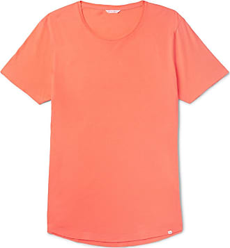 Orlebar Brown Ob-t Slim-fit Cotton-jersey T-shirt - Orange