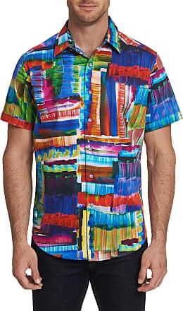 Robert Graham Mens Riskin Short Sleeve Shirt Size: 2XL by Robert Graham