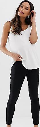 Asos Maternity ASOS DESIGN Maternity high waist trousers in skinny fit-Black