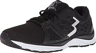 361° Womens 361-POISION Running Shoe, Black/White_0900, 10 M US