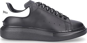 Alexander McQueen Low-Top Sneakers LARRY calfskin gum Logo black-combo