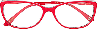 Etnia Barcelona Armação de óculos retangular Albi - Vermelho