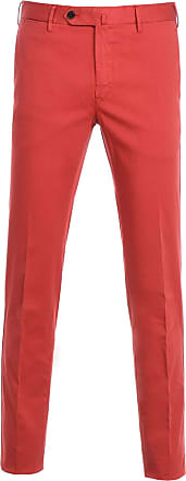 PT01 Fashion Man DT01Z00CL2TU810644 Red Cotton Pants | Spring Summer 20