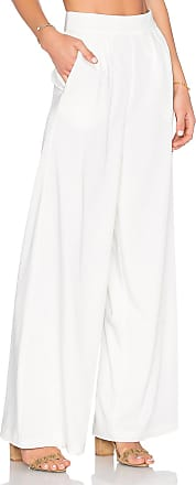 House Of Harlow x REVOLVE Charlie Wide Leg Pant in White