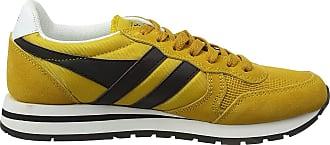 Gola Mens Daytona Trainers, Yellow (Sun/Black/White Yb), 11 (45 EU)