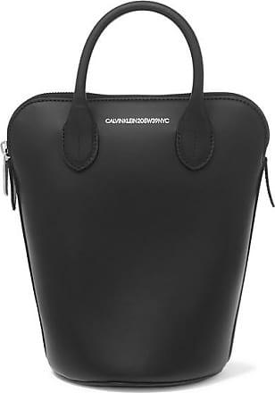 CALVIN KLEIN 205W39NYC Dalton Mini Leather Bucket Bag - Black 7da3bfcc070ab