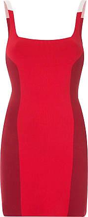 Nagnata Vestido color block - Vermelho