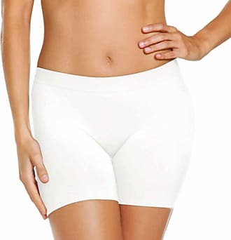 Jockey Skimmies Short Length Slipshort 3 Pack-White-XX-Large-Short-UK 16