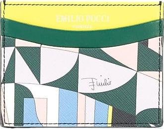 Emilio Pucci Porta-cartões Sirens Song - Verde
