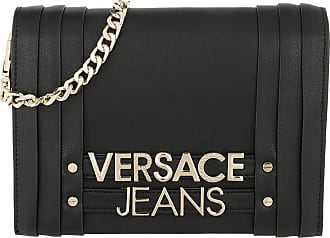 ff3811cd7e Versace Jeans Couture Chain Crossbody Bag Black Umhängetasche schwarz