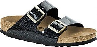 a0075d2225c2d7 Birkenstock Pantolette Arizona Magic Snake Black Gr. 35-43 1009124 1009125