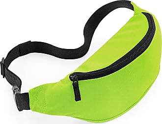 BagBase Adults/Unisex Belt/Bum Bag With Adjustable Belt. Various Colours Available - Walking/Running/Holiday. Fanny Pack. (Lime)